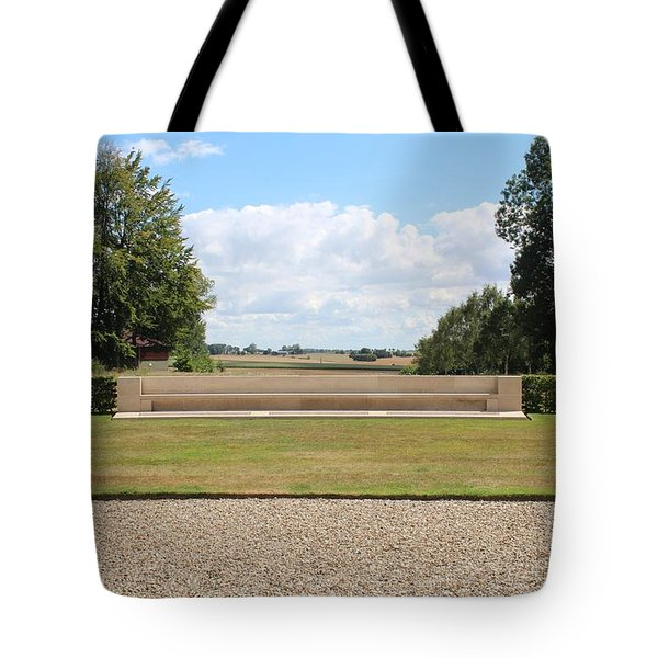 Historic View Tote Bag