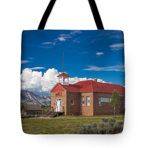 Battlement Mesa Tote Bag