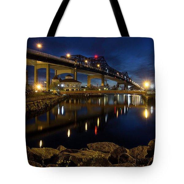 Battleship Cove, Fall River, Ma Tote Bag
