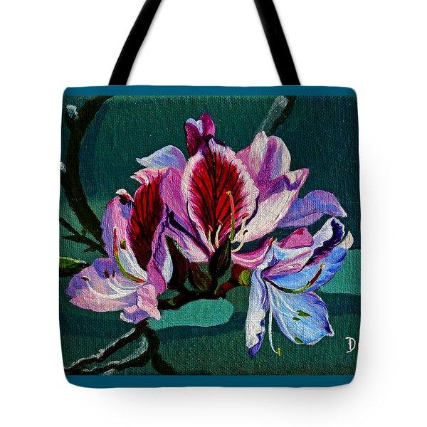 Bauhinia Beauty Tote Bag