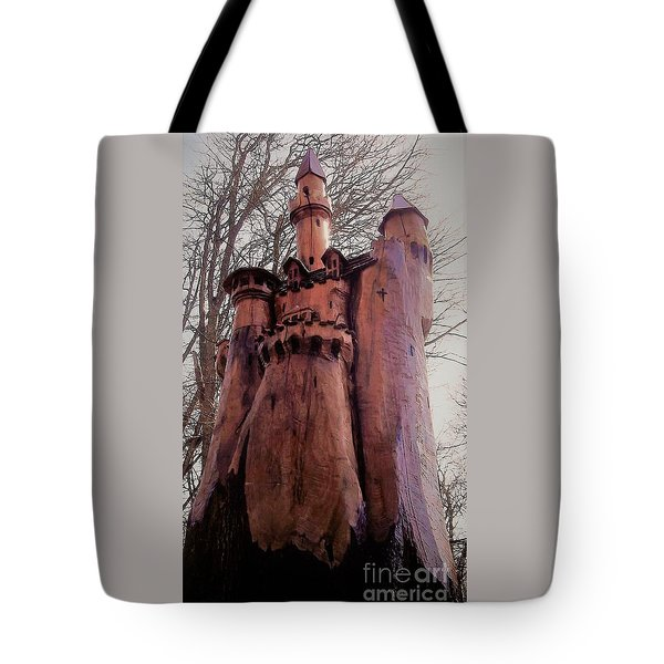 Bavarian Castle Tote Bag by John Williams