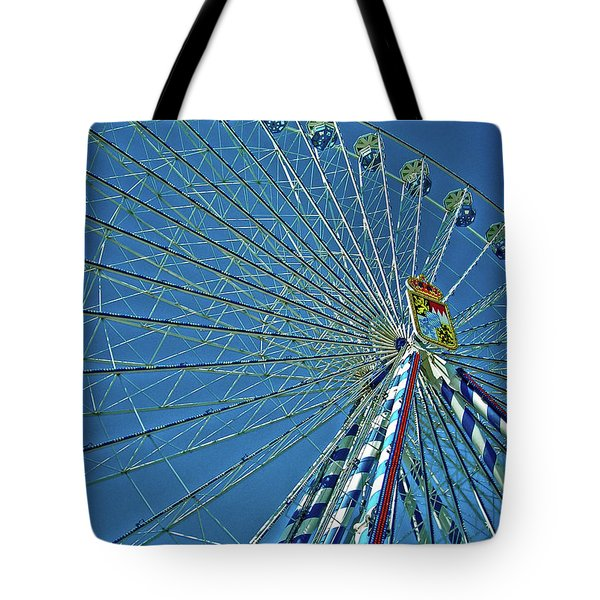 Bavarian Fairy Wheel Tote Bag by Juergen Weiss