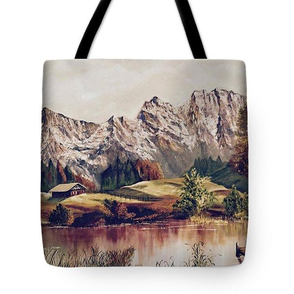 Bavarian Landscape Tote Bag