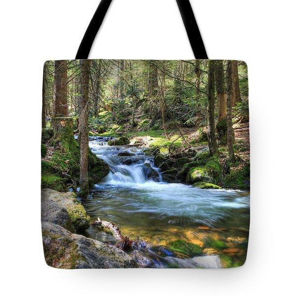 Bavarian Stream Tote Bag
