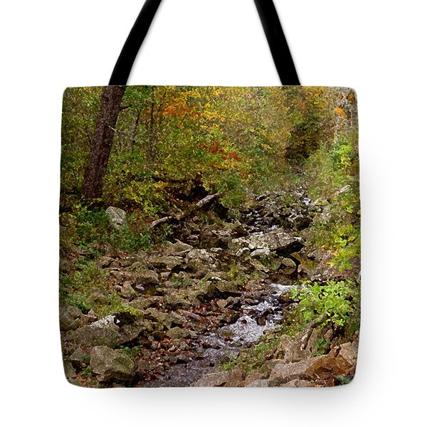 Tote Bag featuring the photograph Baxter's Hollow II by Kimberly Mackowski