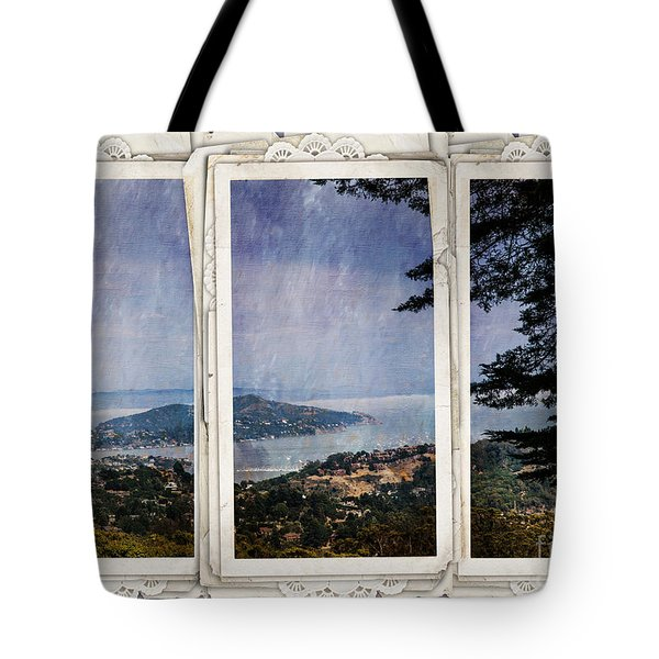 Tote Bag featuring the photograph Bay Area by Judy Wolinsky