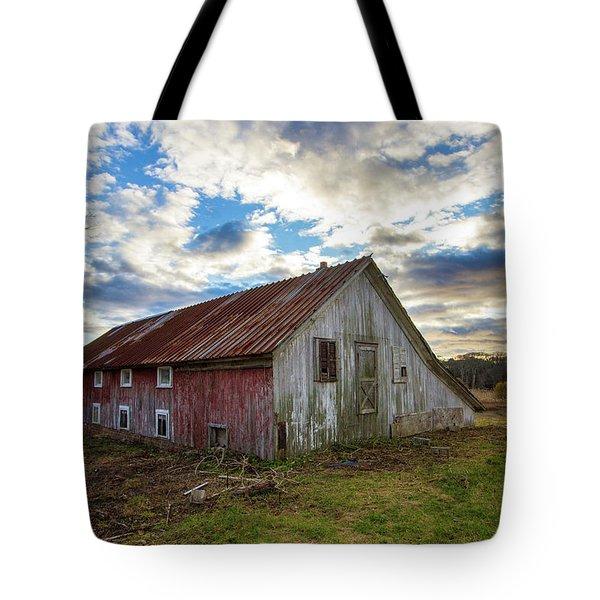 Bay Avenue Barn Tote Bag
