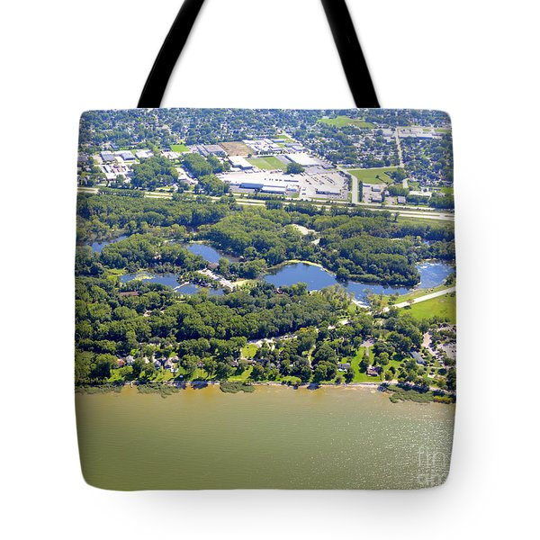 Tote Bag featuring the photograph Bay Beach Nature Center by Bill Lang