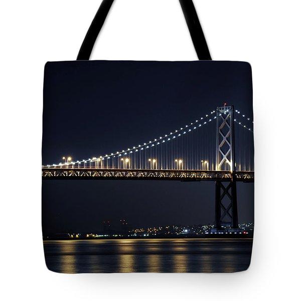Bay Bridge Tote Bag by Catherine Lau