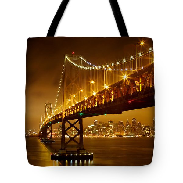 Bay Bridge Tote Bag