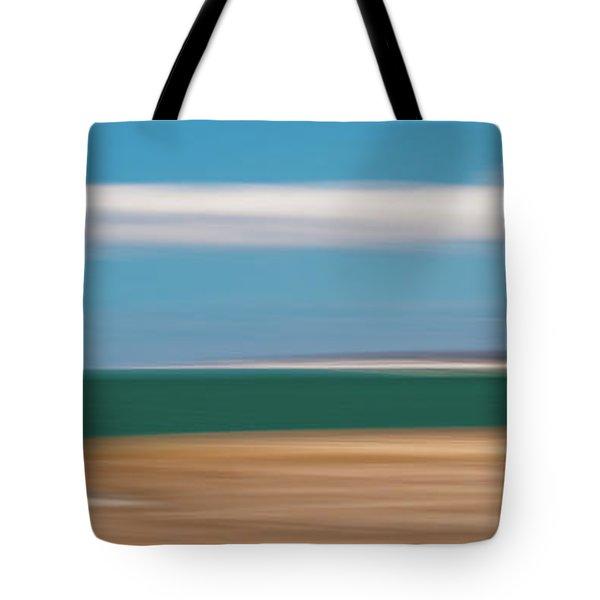 Bay Cloud Tote Bag
