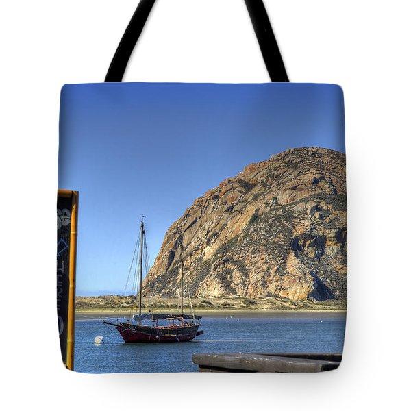 Bay Cruise At 11 Tote Bag