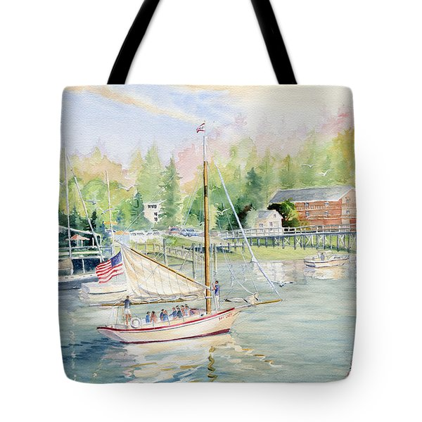 Bay Lady  Tote Bag by Melly Terpening