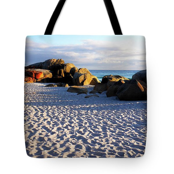 Bay Of Fires Sunrise Tote Bag