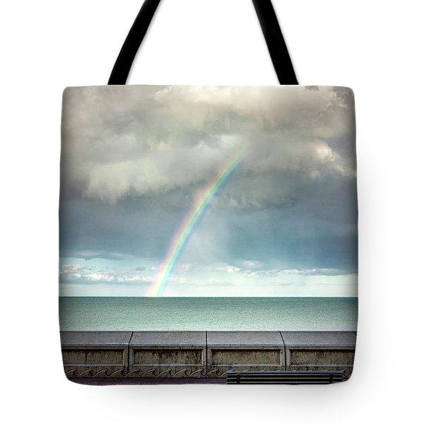 Bay Of Rainbows Tote Bag