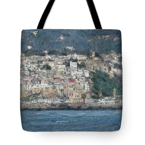 Bay Of Tangier Tote Bag