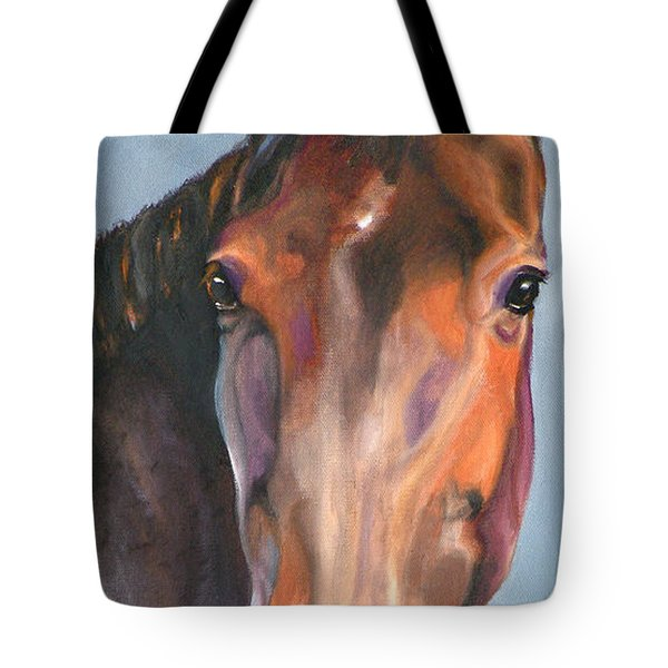 Thoroughbred Royalty Tote Bag