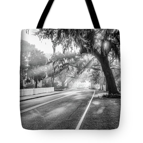 Bay Street Rays Tote Bag
