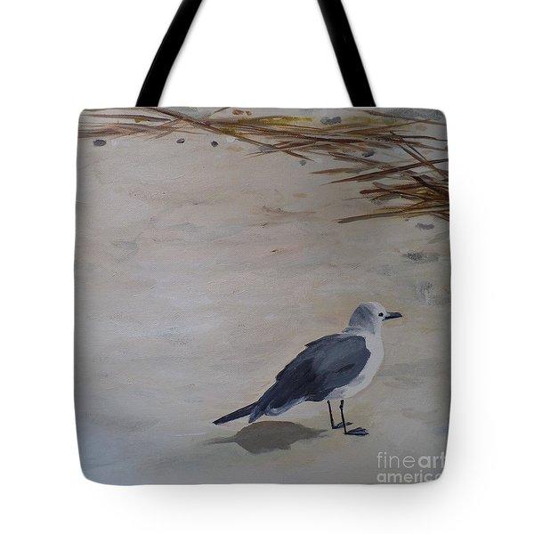 Bay Watch Tote Bag by Carla Dabney
