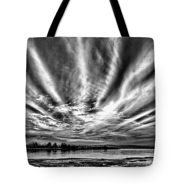 Bayfarm Island Sunrise Tote Bag
