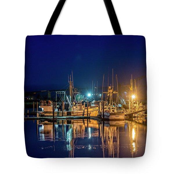 Bayfront Morning Tote Bag