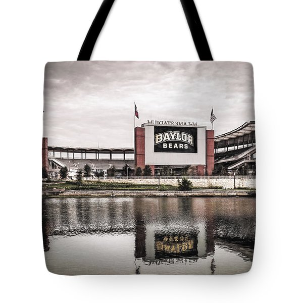Football Stadium Sketch Tote Bag
