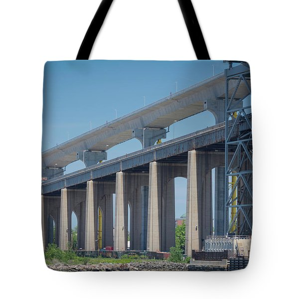 Bayonne Bridge Raising #5 Tote Bag