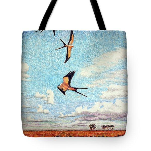 Bayou Ballet Tote Bag