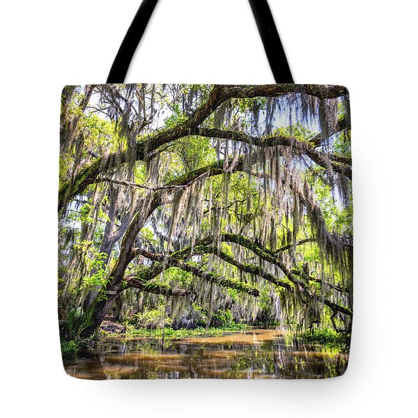 Bayou Cathedral Tote Bag