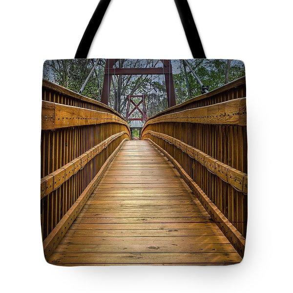 Bayou Foot Bridge Tote Bag