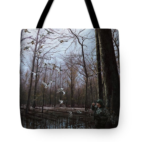 Bayou Meto Morning Tote Bag