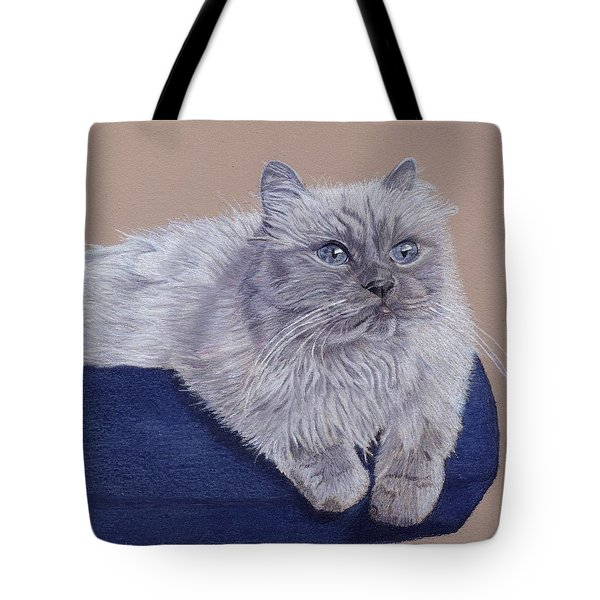 Bayou - Portrait Of A Himalayan Tote Bag