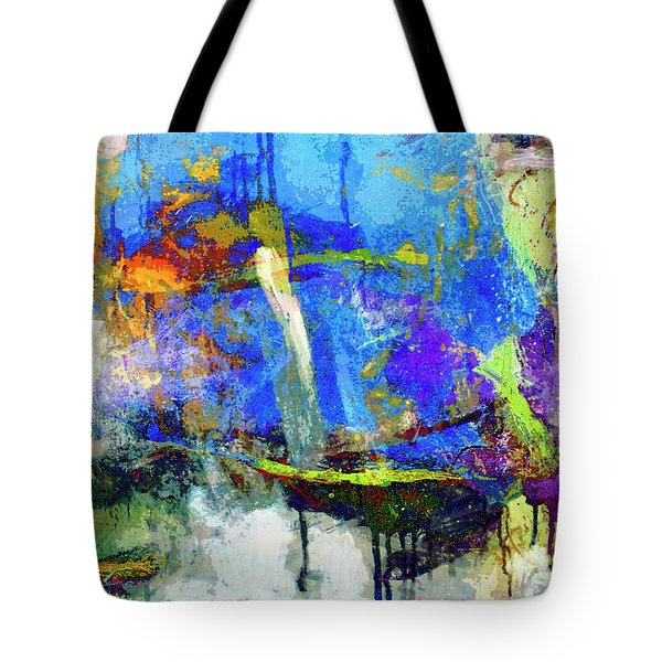 Tote Bag featuring the painting Bayou Teche by Dominic Piperata