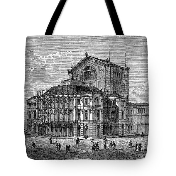 Bayreuth: Festspielhaus Tote Bag by Granger