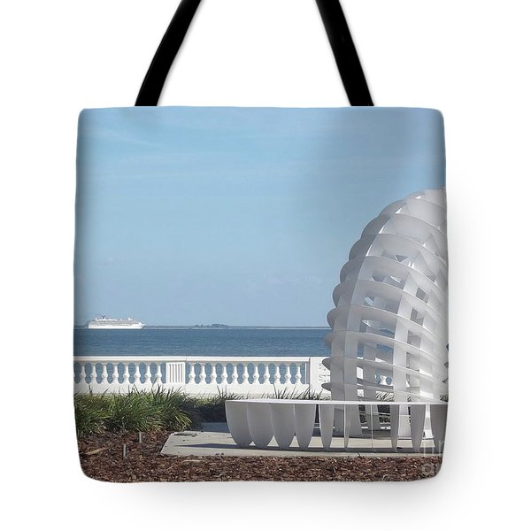 Bayshore Boulevard Sculpture Tote Bag