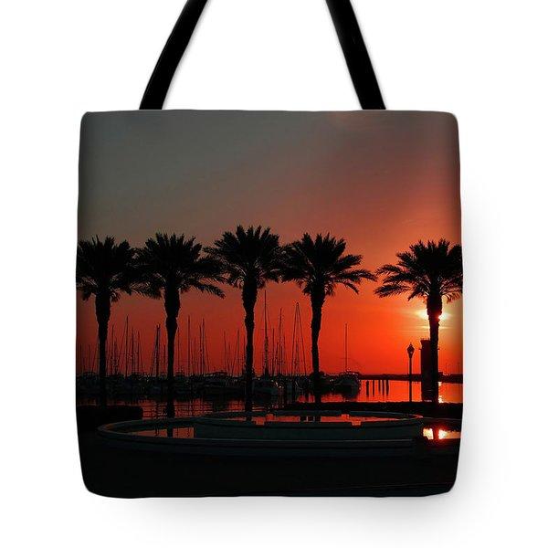 Bayshore Drive Harborwalk Tote Bag
