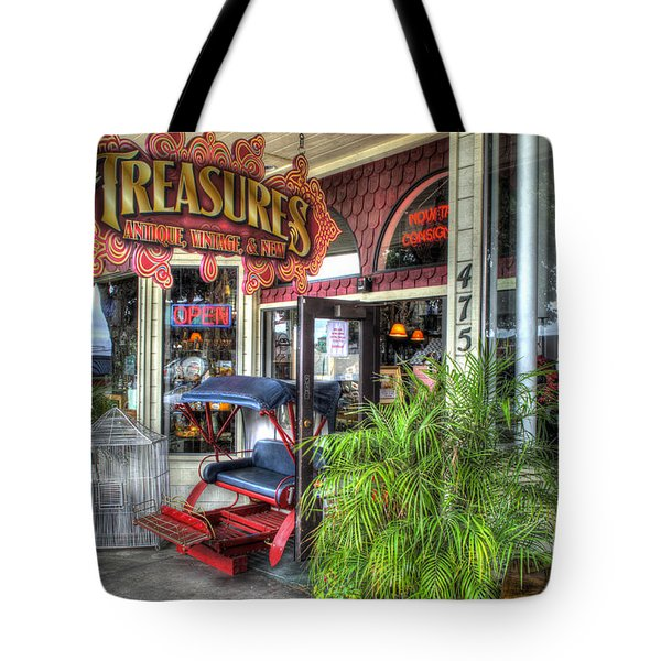 Baytown Treasures Tote Bag