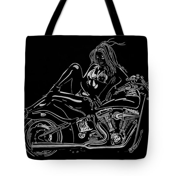 Bb Five Tote Bag