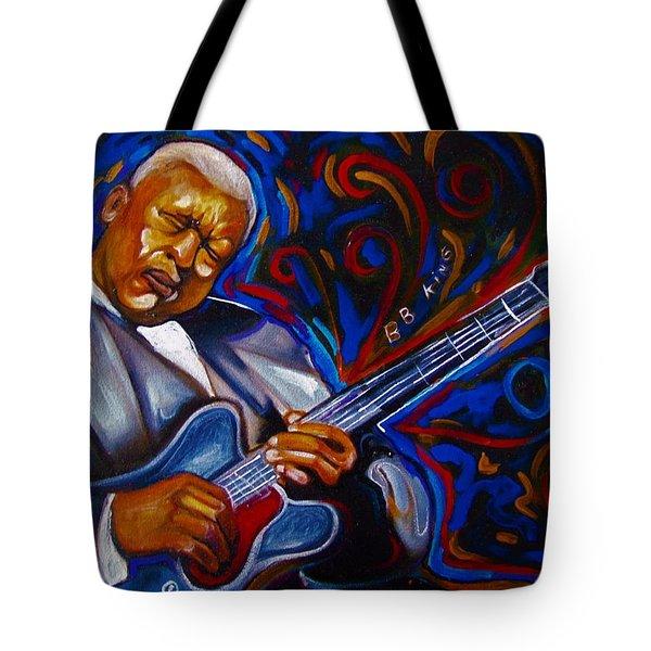 b.b KING Tote Bag by Emery Franklin