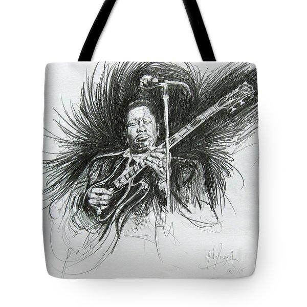 Bb King Tote Bag