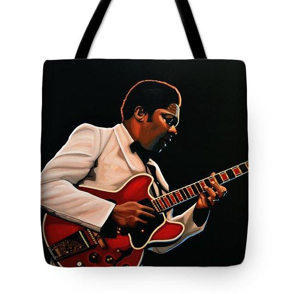 B. B. King Tote Bag by Paul Meijering
