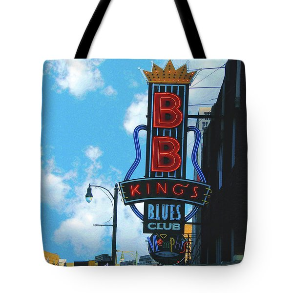 Bb Kings Tote Bag