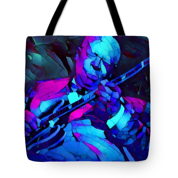 Bb Sings The Blues Tote Bag