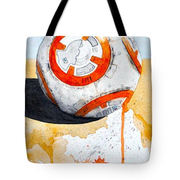 BB8 Tote Bag by David Kraig