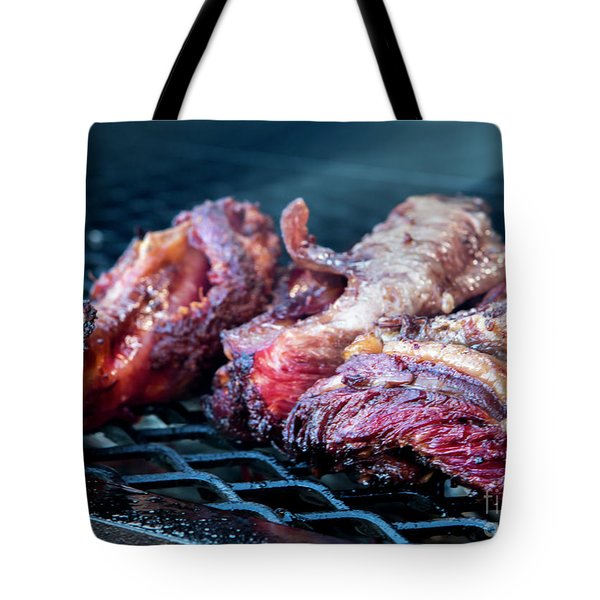 Bbq Beef 1 Tote Bag
