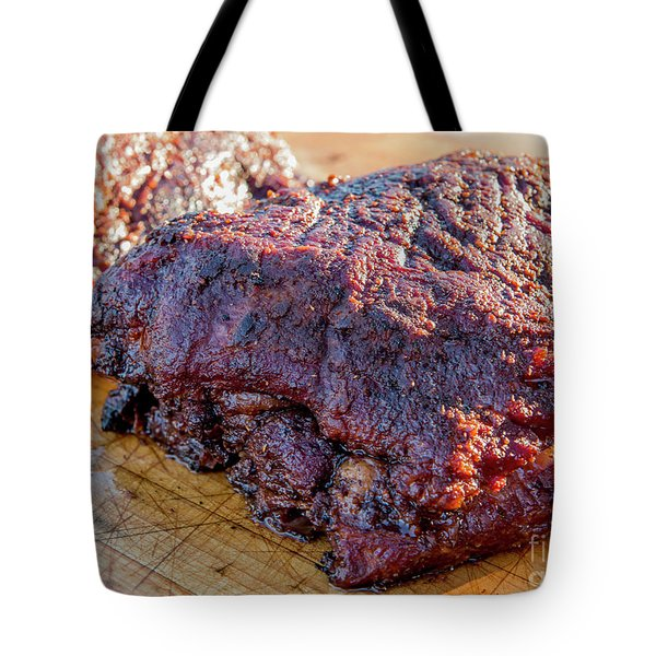 Bbq Beef 2 Tote Bag