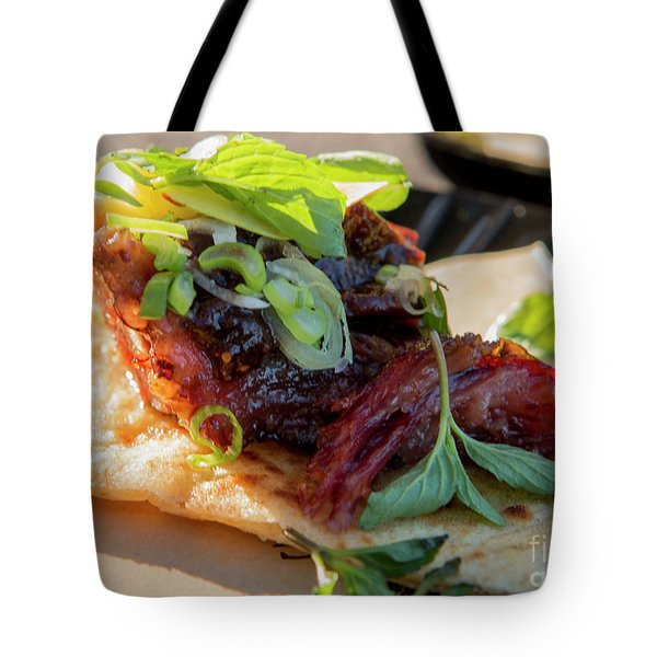 Bbq Beef 3 Tote Bag
