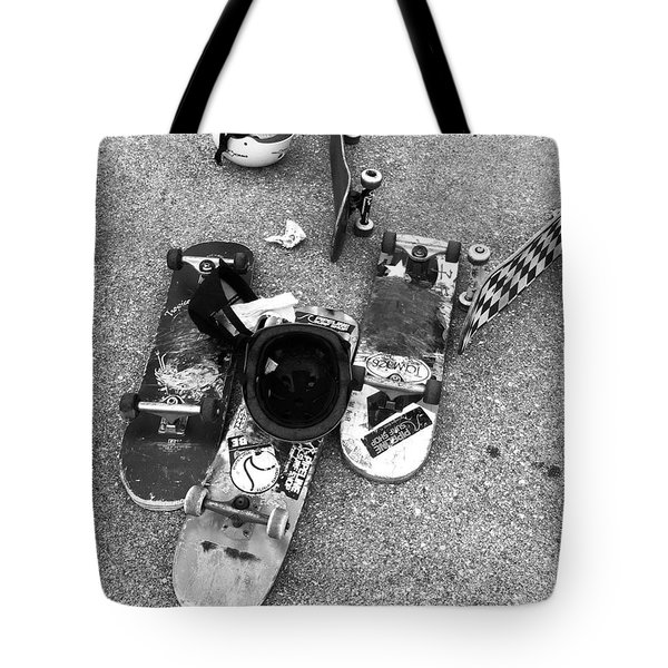 Bored Boards Tote Bag by WaLdEmAr BoRrErO