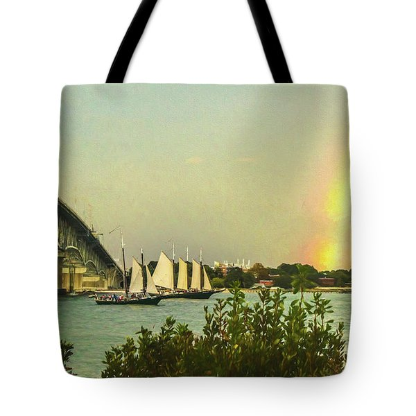 Be A Rainbow Tote Bag