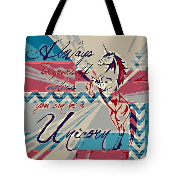 Be A Unicorn 1 Tote Bag by Brandi Fitzgerald